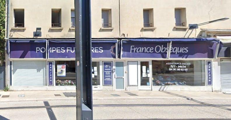 Photographie des Pompes Funèbres France Obsèques