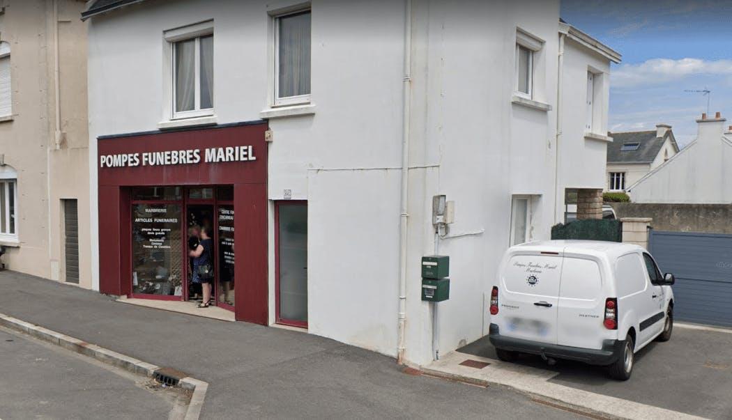 Photographie Pompes Funèbres Mariel de Concarneau