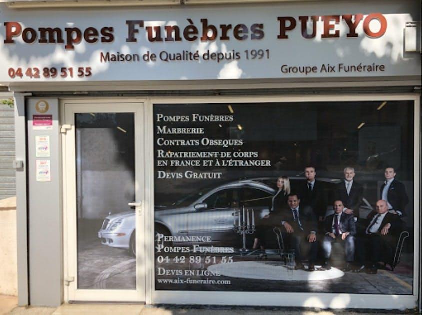 Photographies des Pompes Funèbres et Marbrerie Puyeo à Saint-Victoret