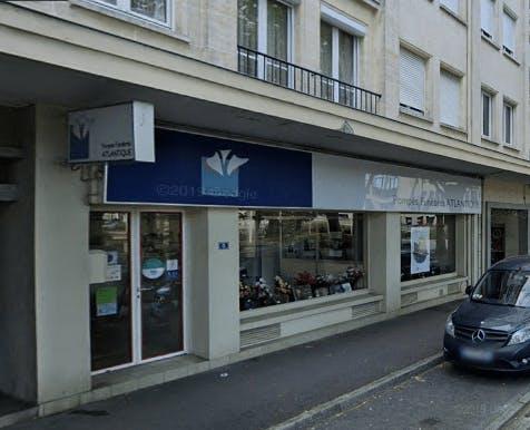 Photographie de la Pompes Funèbres et Marbrerie Atlantique à Saint-Nazaire