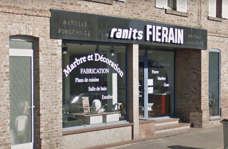 Photographie de la Marbrerie Granits FIERAIN à Abbeville