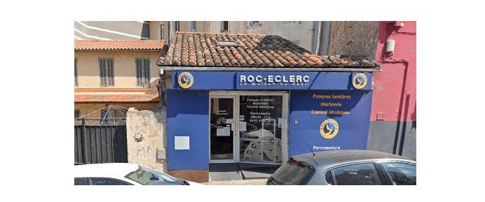 Photographie de la Pompes Funèbres Roc-Eclerc à Marseille
