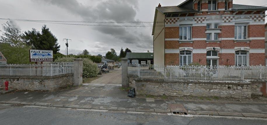 Photographie de la Marbrerie Faux Benoit de la ville de Saint-Erme-Outre-et-Ramecourt
