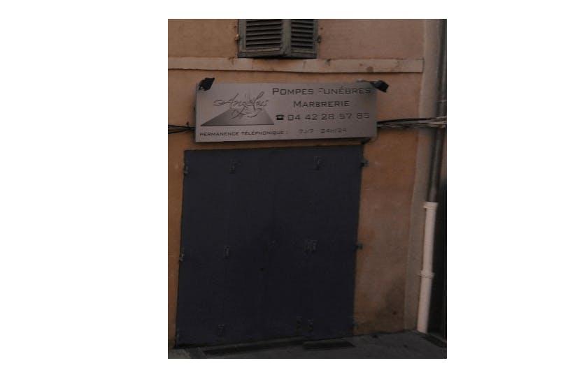 Photographie de la Pompes Funèbres et Marbrerie Angelus à Aix-en-Provence