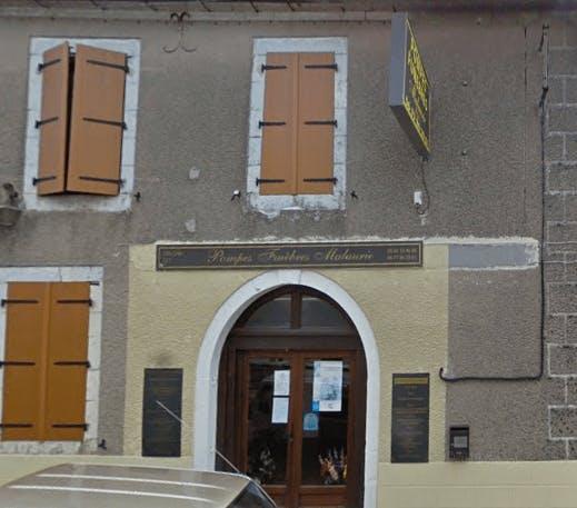 Photographie de la Pompes Funèbres Malaurie de la ville de Labastide-Murat