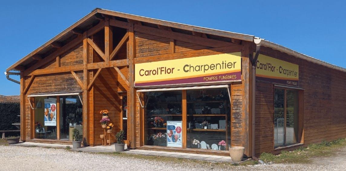 Photographie de la Pompes Funèbres Carol'Flor-Charpentier de la ville de Belin-Béliet