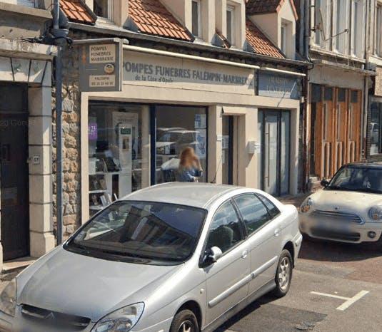 Photographie de la Pompes Funèbres et Marbrerie de La Côte D'Opale à Boulogne-sur-Mer