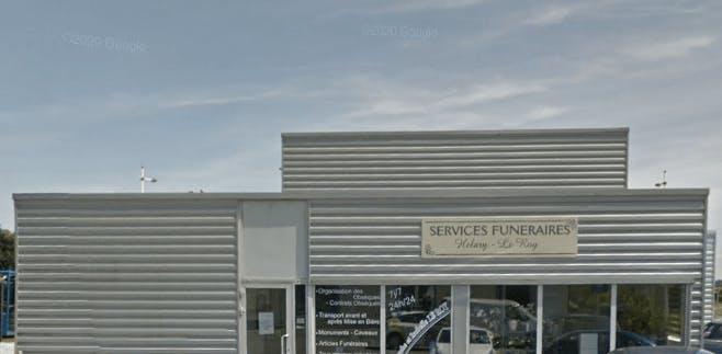 Photographie de la  Pompes Funèbres Helary le Roy de la ville des Étables-sur-Mer