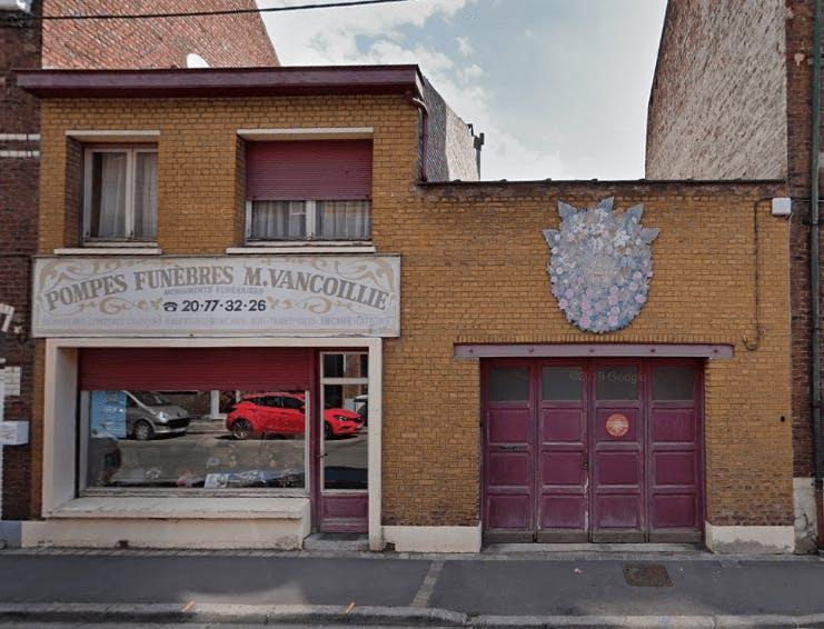 Photographie de la Pompes Funèbres Vancoillie de Armentières