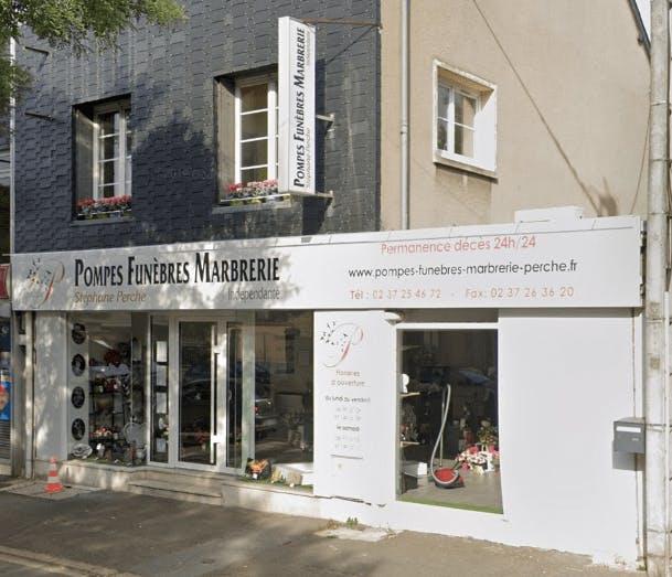 Photographie de la Pompes fuèebres Marbrerie Stéphane Perche de la ville de Luisant