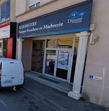 Photographie Pompes Funèbres et Marbrerie Marmigère Narbonne