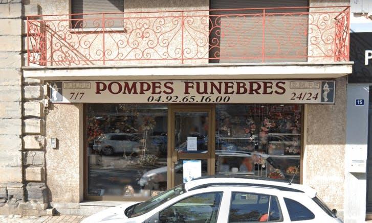 Photographie Pompes Funèbres Rolando Marcellin de Laragne-Montéglin
