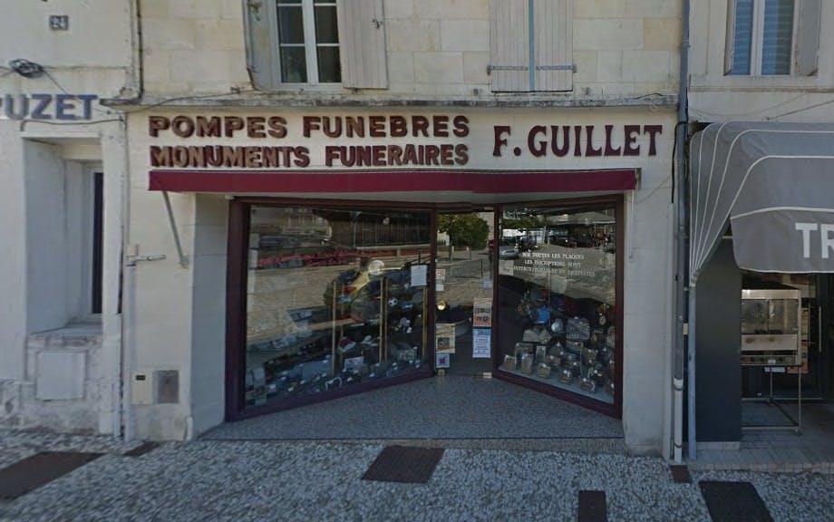 Photographies des Pompes Funebres F.Guillet à Jonzac