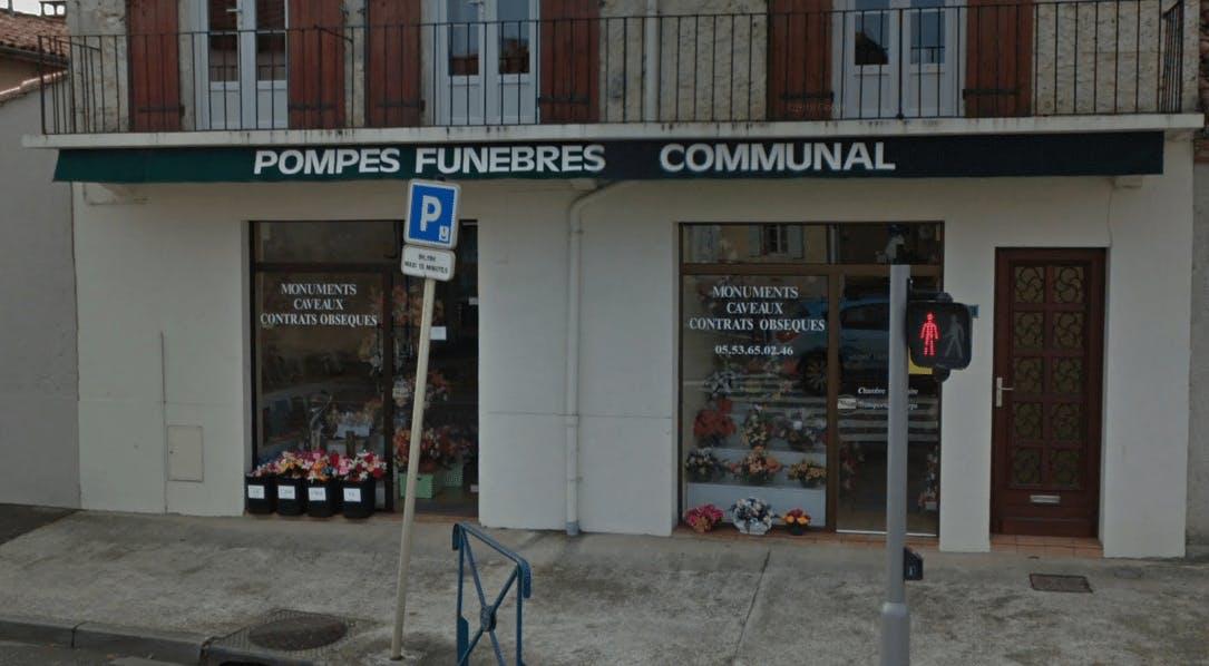 Photographie de la Pompes Funèbres JC Communal de la ville de Nérac