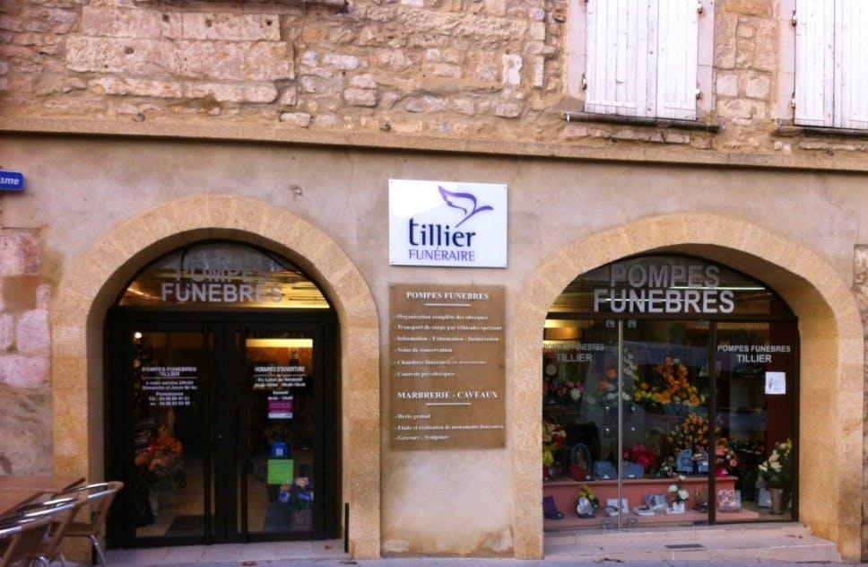 Photographies des Pompes Funèbres Tillier à Bagnols-sur-Cèze