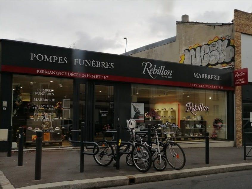 Photographies des Pompes Funèbres Marbrerie Rebillon à Fontenay-sous-Bois