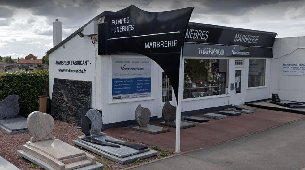 Photographie Pompes Funèbres et Marbrerie Vandenbussche de Coudekerque-Branche