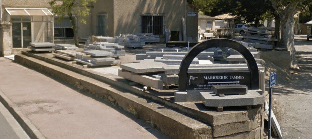 Photographie Marbrerie Jammes Lézignan-Corbières