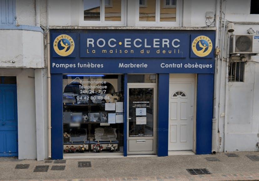 Photographie Pompes Funèbres Roc-Eclerc de Martigues