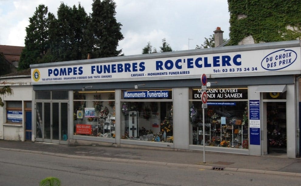 Photographie de Pompes Funèbres Roc-Eclerc de Baccarat