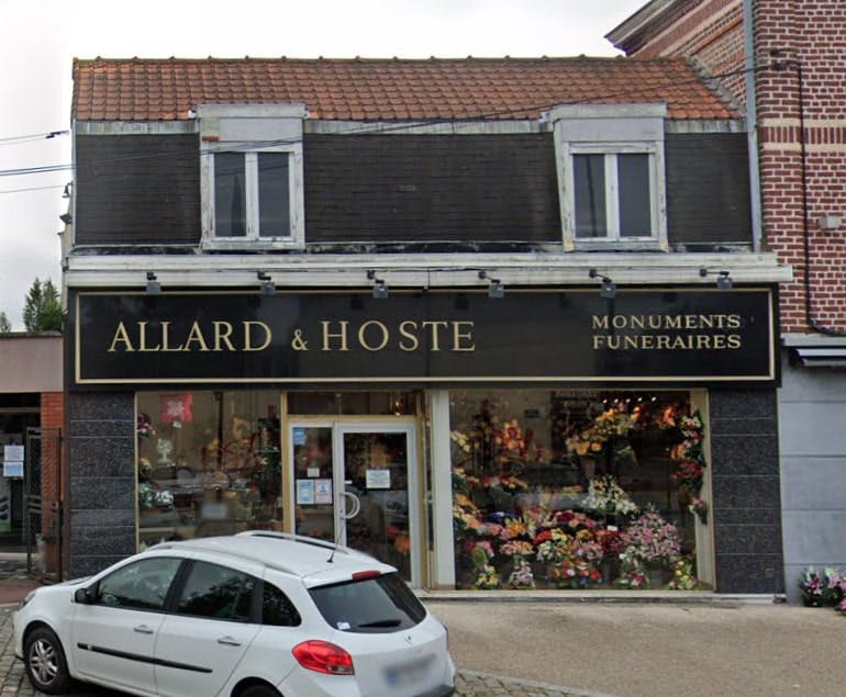 Photographies de la Marbrerie Allard et Hoste à Tourcoing