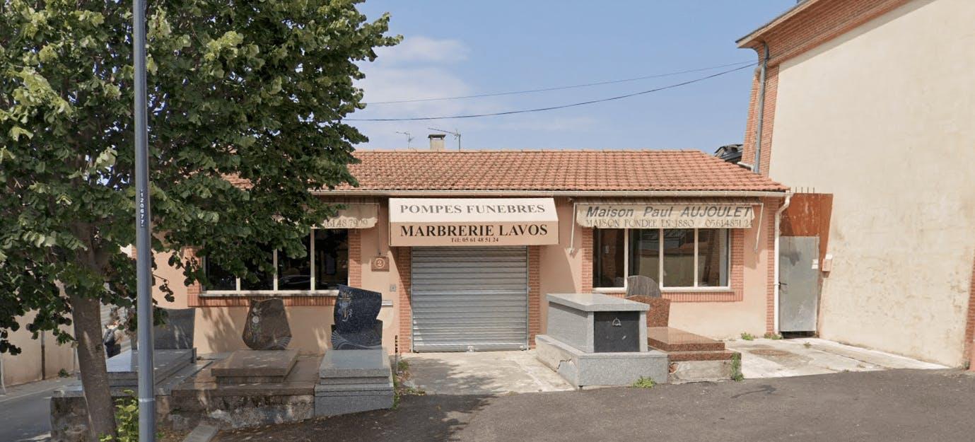 Photographie Marbrerie Lavos Escourbiac Aujoulet à Toulouse