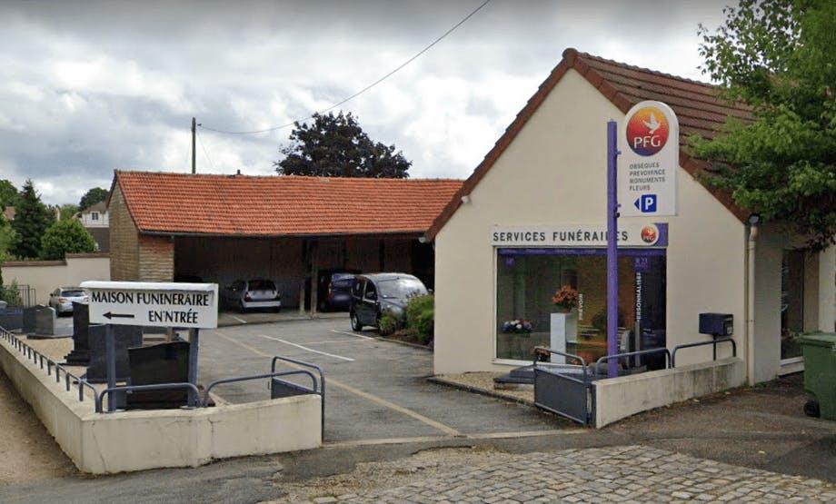 Photographie de la Pompes Funèbres Générales à Rambouillet
