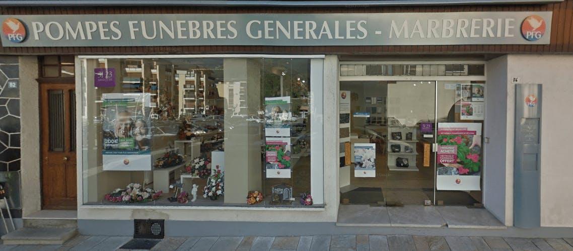 Photographie de la Pompes Funèbres Générales de la ville de Bourg-Saint-Maurice
