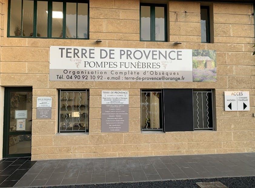 Photographies des Pompes Funèbres Terre de Provence à Sain-Andiol