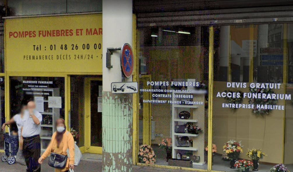 Photographie La Maison des Obsèques Carrefour du funéraire de Saint-Denis