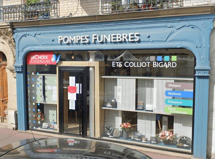 Photographie Pompes Funèbres Colliot  Levallois-Perret