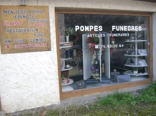 Photographie Pompes Funèbres Fraysse Jean-Louis de Jaujac