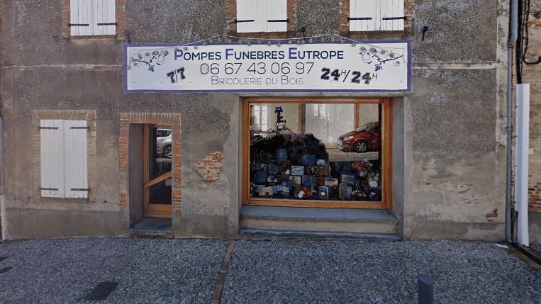 Photographie de la Pompes Funèbres Eutrope Maguy à Verdun-sur-Garonne