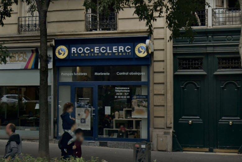 Photographies des Pompes Funèbres ROC ECLERC à Paris