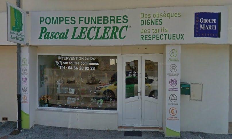 Photographie des Pompes Funèbres Pascal Leclerc