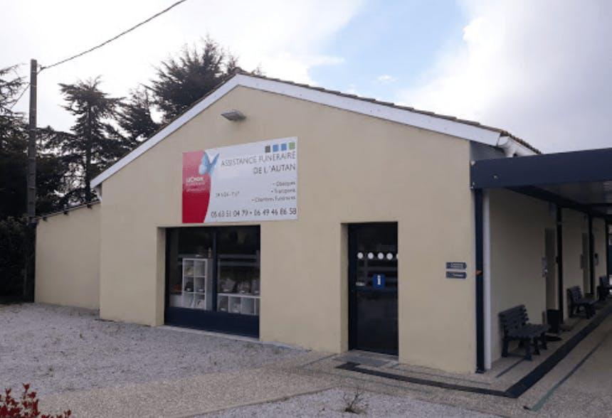 Photographie de l'Assistance Funéraire de l'Autan de la ville de Bruguière