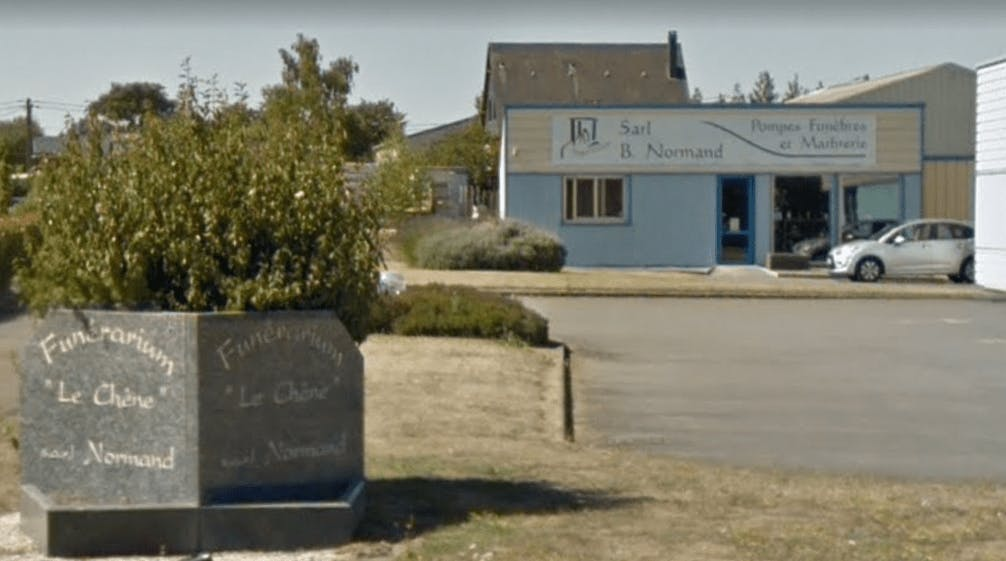 Photographie de la Pompes Funèbres Normand Benoit de la ville de Meslay-du-Maine