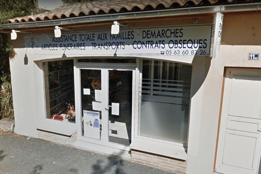 Photographie Pompes Funèbres CHEVALLOT de Marssac-sur-Tarn