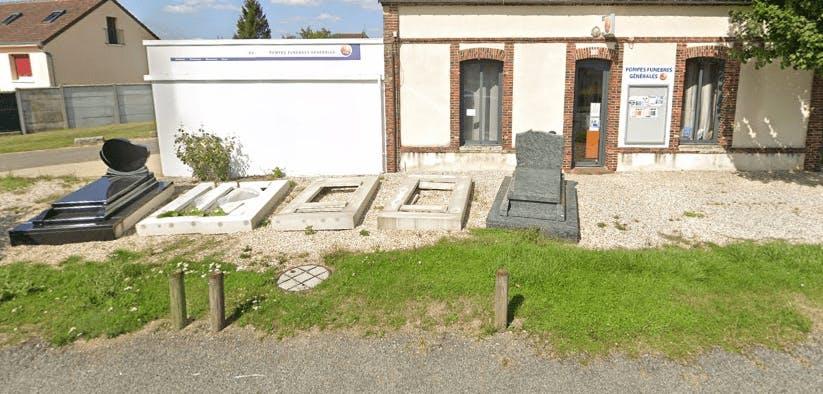 Photographie de la Pompes Funèbres Générales de la ville de La Loupe