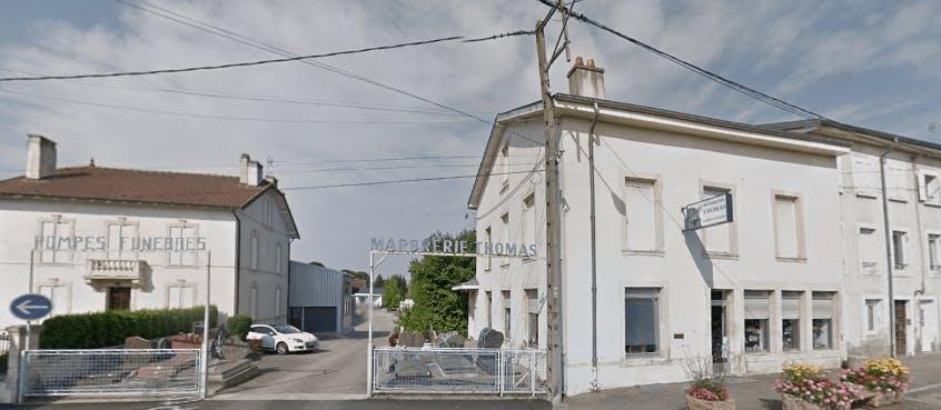 Photographie de la Pompes Funèbres Marbrerie Thomas de la ville de Bayon