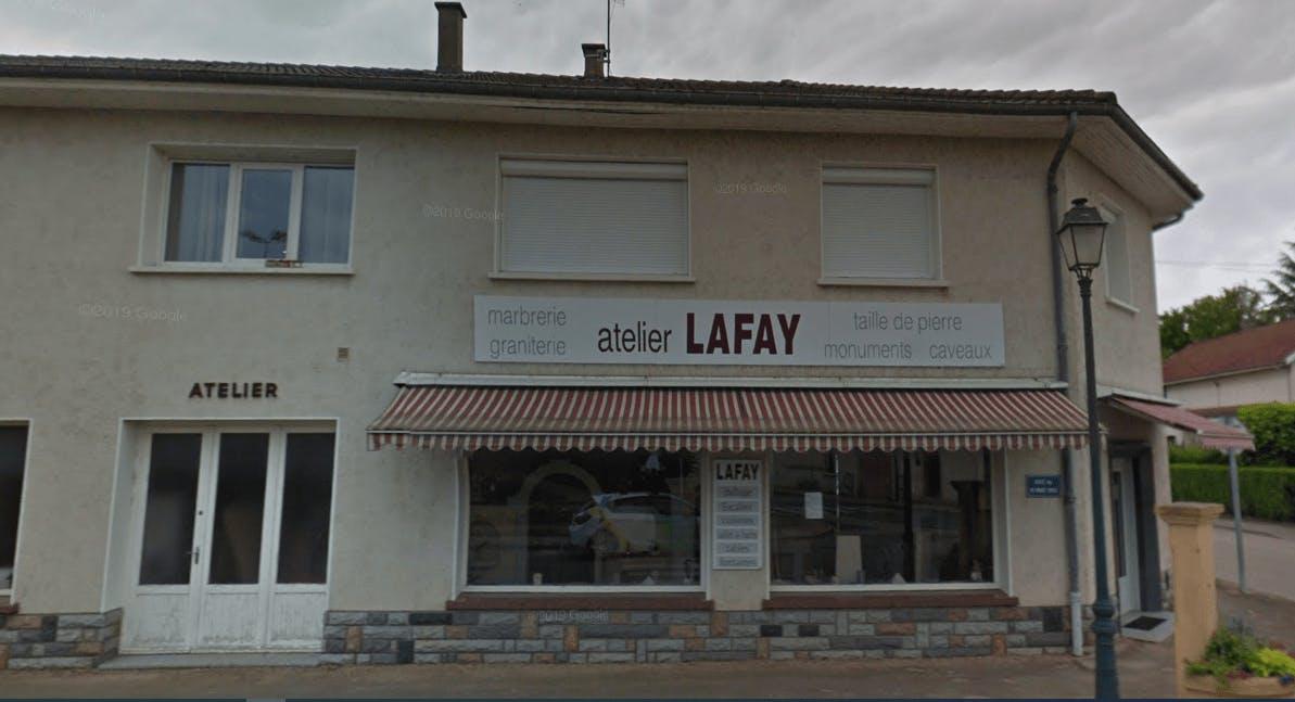 Photographie de la Marbrerie Lafay de la ville de Vonnas
