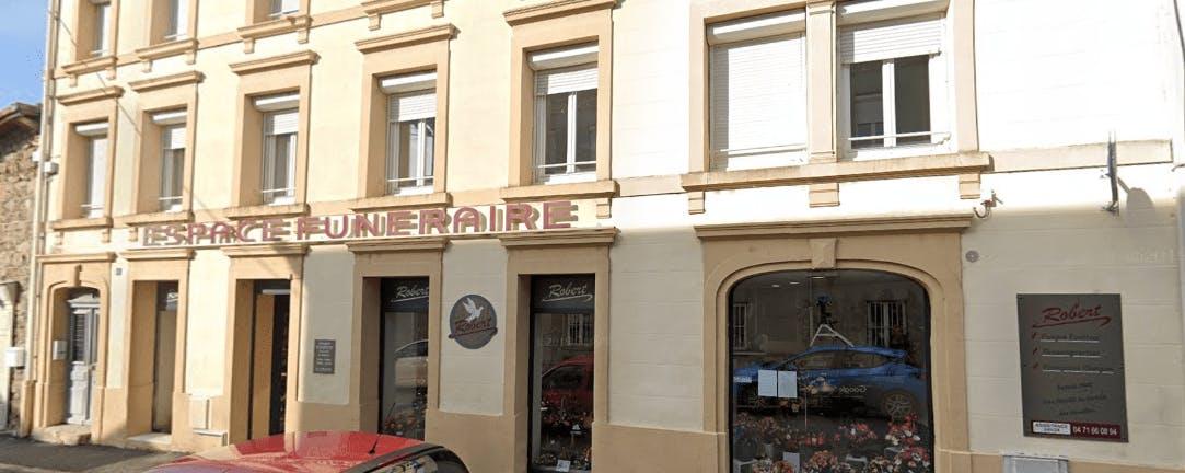 Photographie de la Pompes Funèbres Robert de la ville de Monistrol-sur-Loire