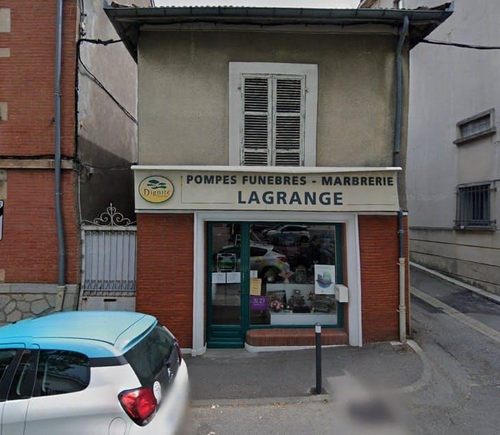 Photographies des Pompes Funèbres Marbrerie Lagrange à Foix
