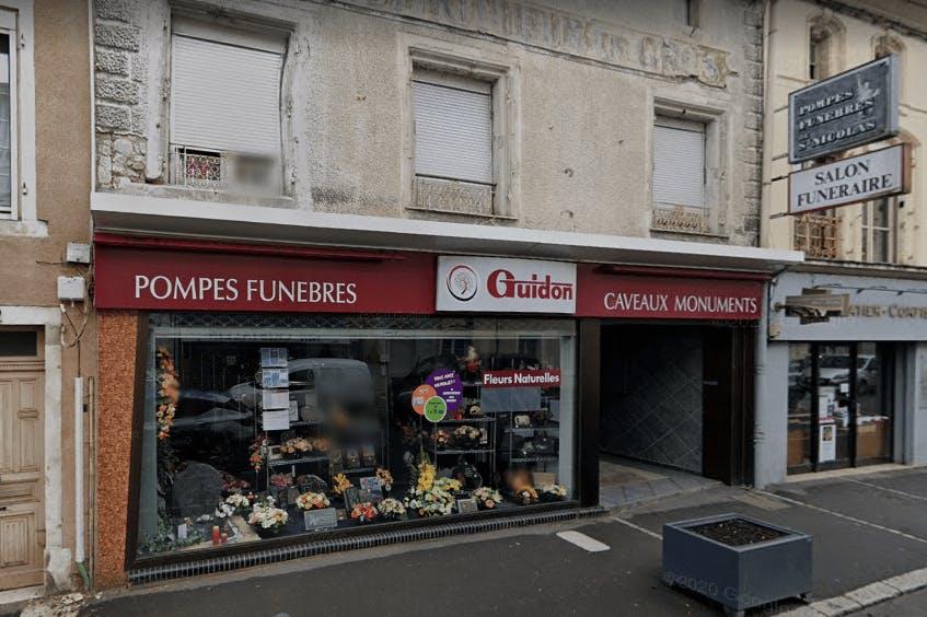 Photographie Pompes Funèbres Guidon de Saint-Nicolas-de-Port