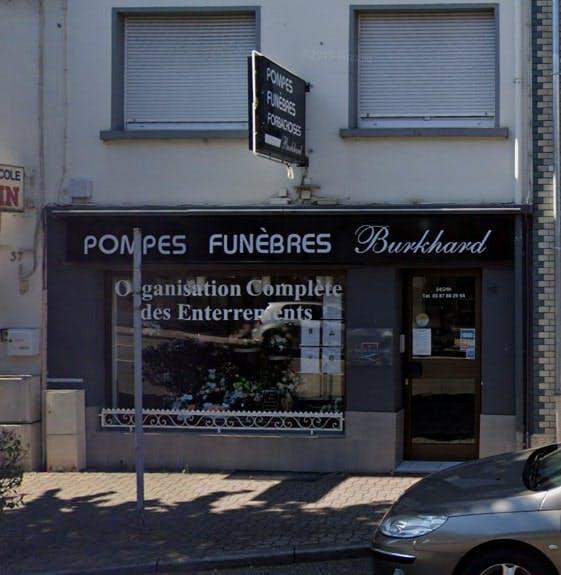 Photographies des Pompes Funèbres Burkhard à Forbach