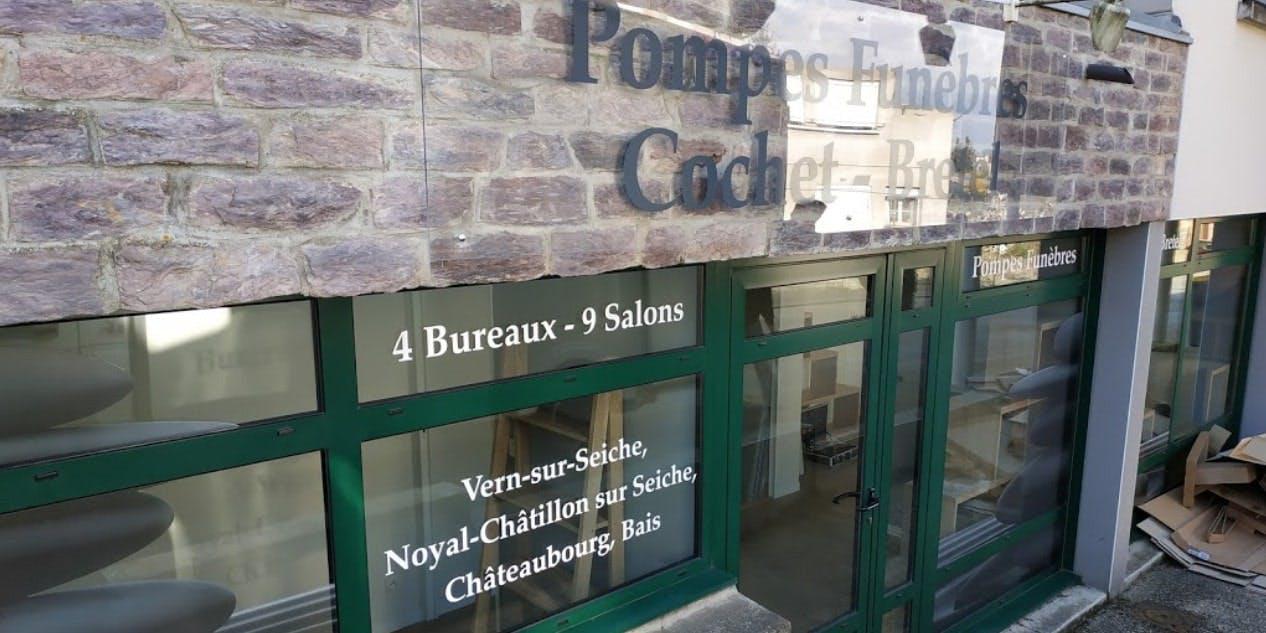 Photographies des Pompes Funèbres Cochet Bretel à Noyal-Châtillon-sur-Seiche
