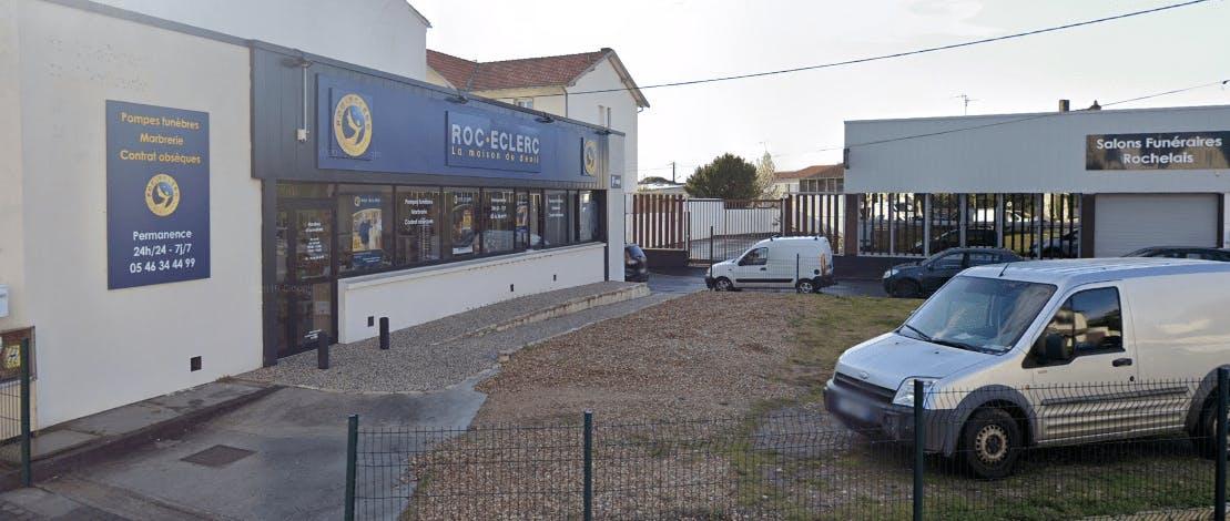 Photographie Pompes Funèbres Roc-Eclerc La Rochelle
