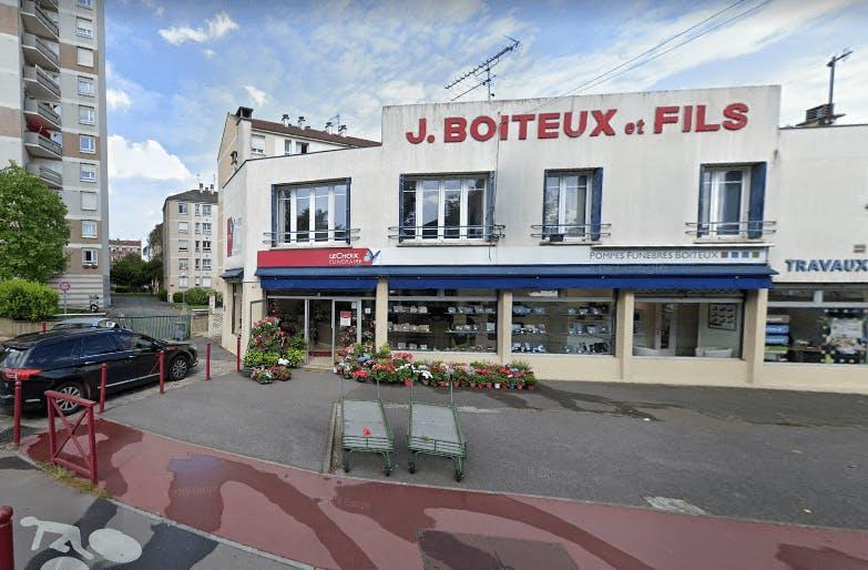 Photographie de la Pompes Funèbres Colliot-Boiteux au Pré-Saint-Gervais