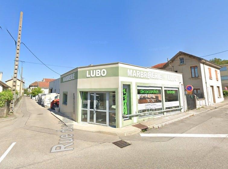 Photographies de la Marbrerie Lubo à Bourgoin-Jallieu