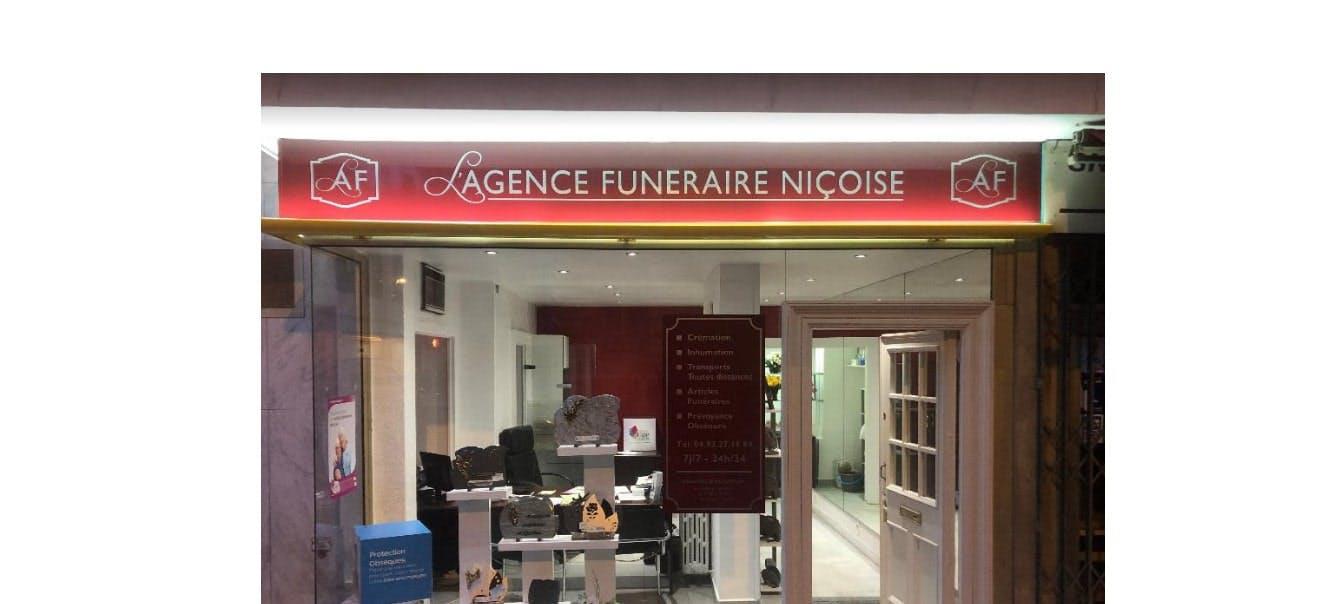 Photographie de l'Agence funéraire Nicoise